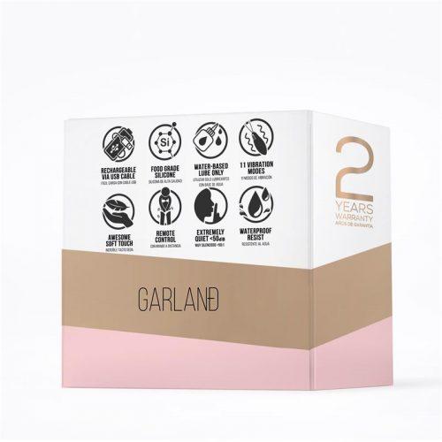 Huevo vibrador con control remoto Garland 7