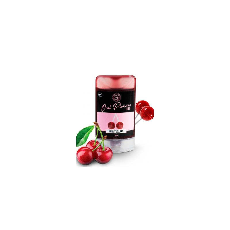 Lubricante comestible lollipop cereza 34 ml