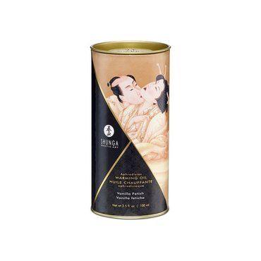 Aceite masaje efecto calor con sabor a vainilla 3