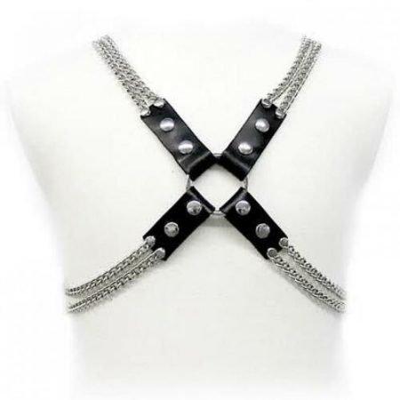 Arnés de cuero Body Chain