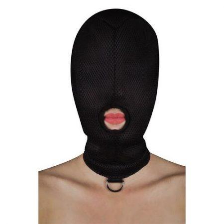 Máscara de sumisión con anilla