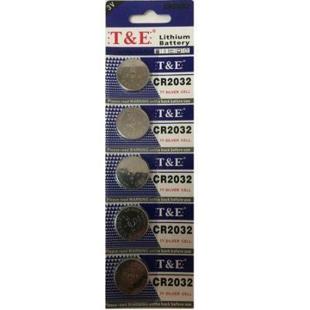 Pack de pilas 5 unidades CR2032
