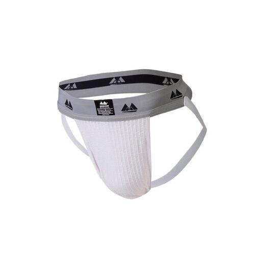 1 jock suspensorio blanco cintura 5 cm