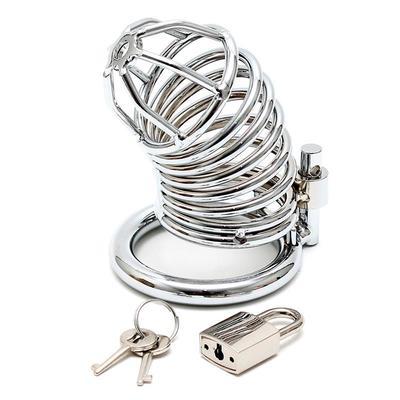 Jaula de castidad con anillas de metal 2