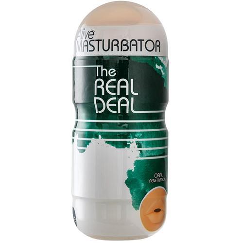 Masturbador boca The Real Deal