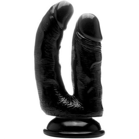 Pene realístico doble penetración 16,51 cm
