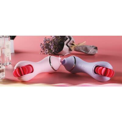 Succionador y estimulador de silicona líquida Pet 6