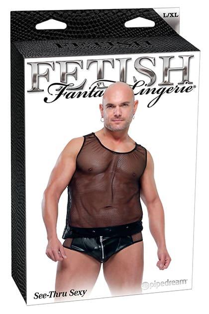 Calzoncillo y camiseta FFML See Thru Sexy 3