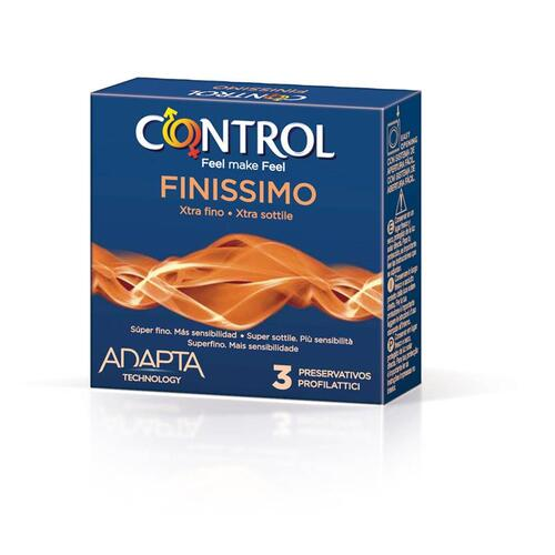 Preservativos Funissimo Control 3 unidades