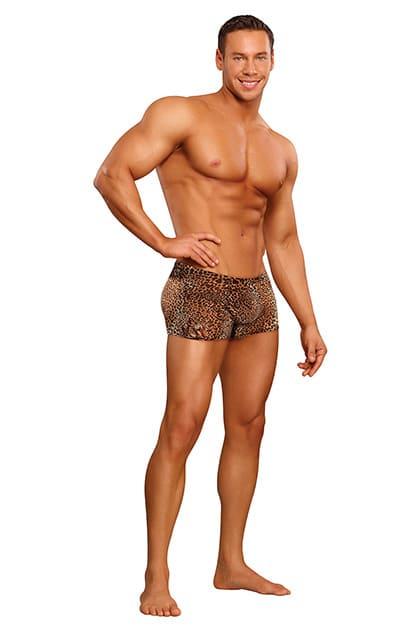 Short leopardo Pouch