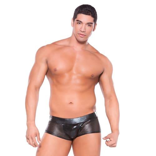 Boxer perforado Zeus color negro