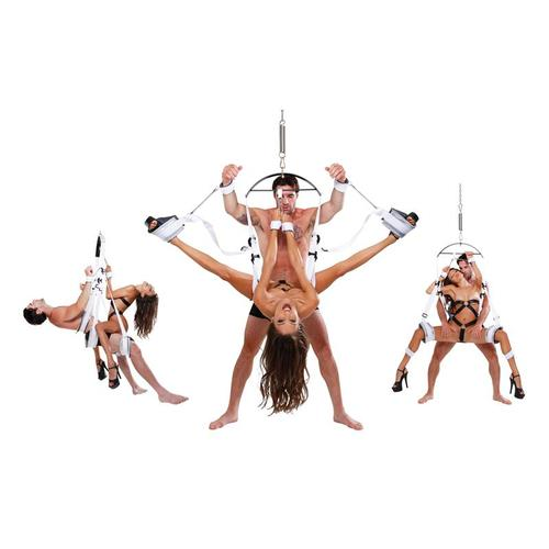 Columpio bondage blanco Fetish Fantasy