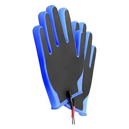 Guantes conductores con electroestimulación