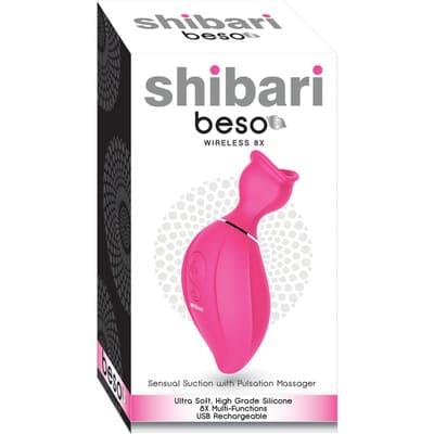 Masajeador con Succionador Shibari 4