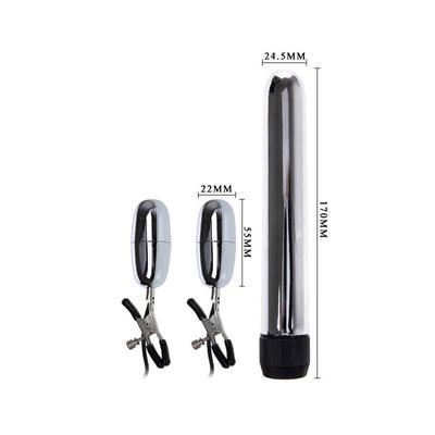 Pinzas para pezones con vibración y bala vibradora 4