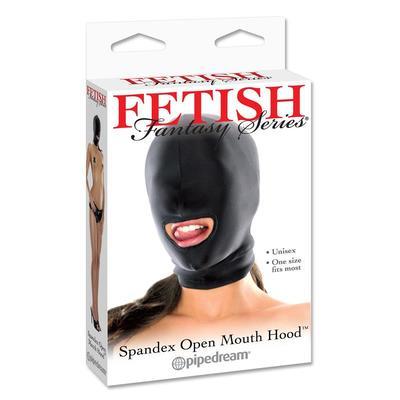 Capucha con apertura en la boca 4