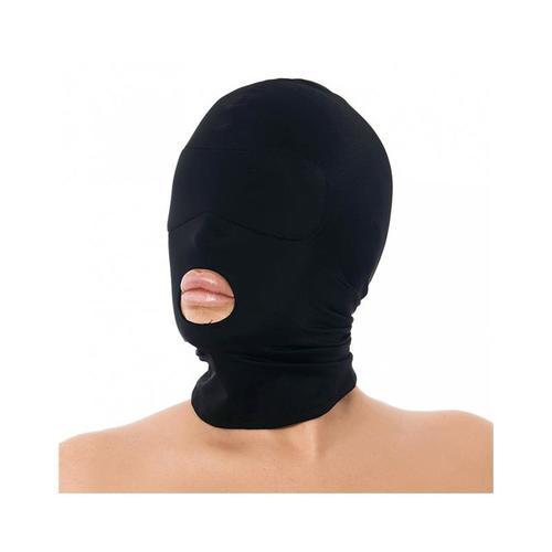 Máscara con abertura de boca