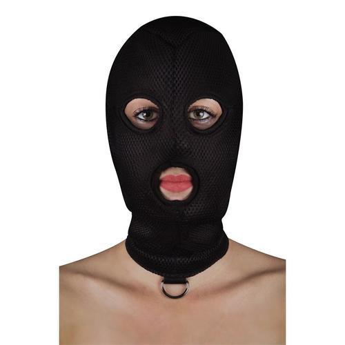 Máscara con anilla en forma de D