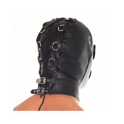 Máscara de cuero ajustable 2 3
