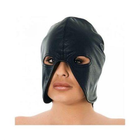 Máscara de cuero ajustable media cabeza