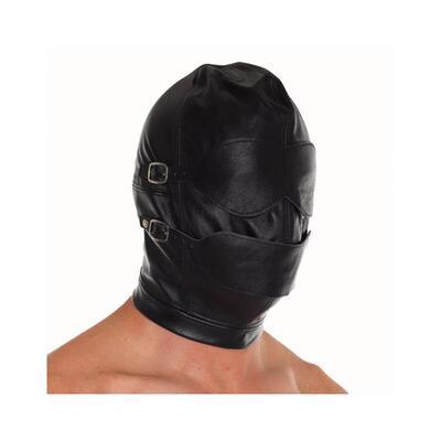 Máscara de cuero ajustable 2