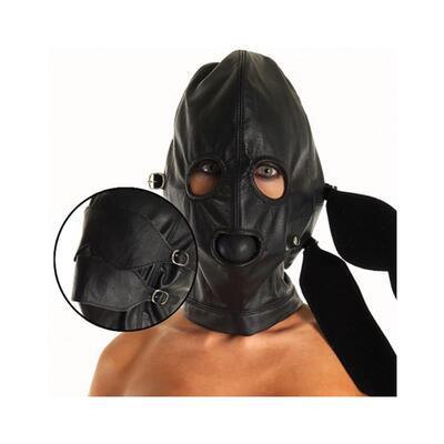 Máscara de cuero ajustable 4