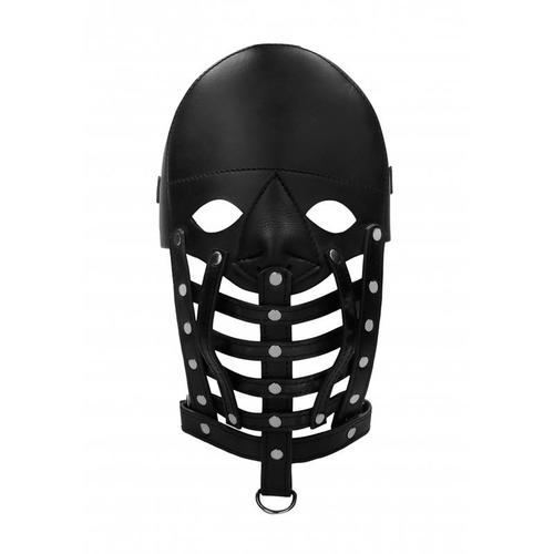 Máscara de cuero masculina Ouch
