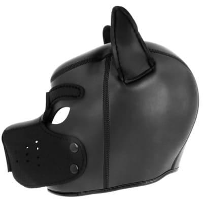 Máscara perro de neopreno con hocico extraible 4