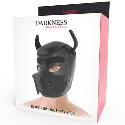 Máscara perro de neopreno con hocico extraible 5