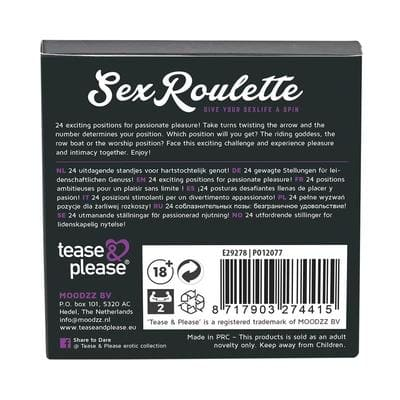 Ruleta sexual Kamasutra Tease Please 4