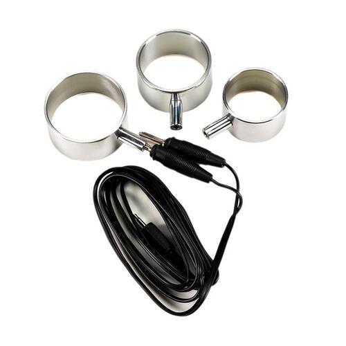 Set de anillos para el pene Electro Play