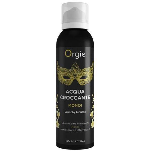 Crema de masaje efervescente aroma a Monoi