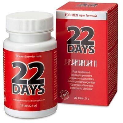 Estimulador fuerte erección 22 días 2