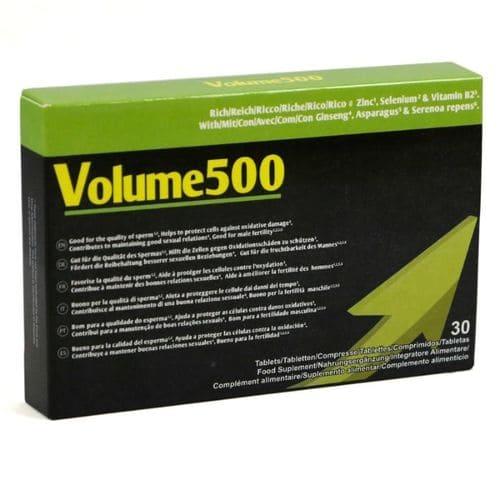 Pildoras aumento de semen Volume 500