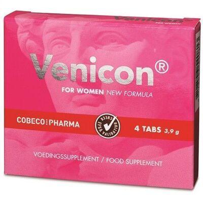 Suplemento líbido mujer 4 cápsulas Venicom 2