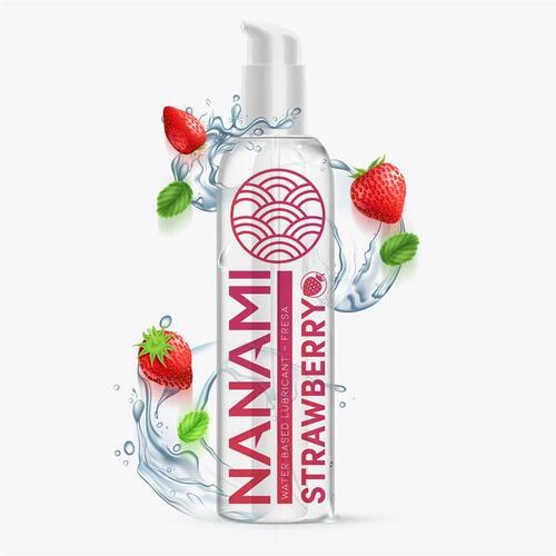 Lubricante base de agua sabor a fresa 150 ml