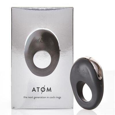 Anillo vibrador para parejas Atom 10