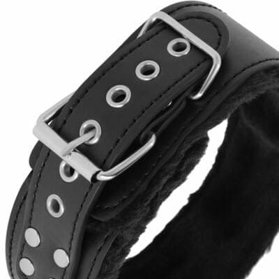 Collar forrado con cadena de Titanium 3
