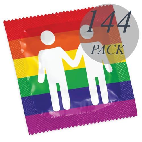 Pack preservativos formato Gay Pride
