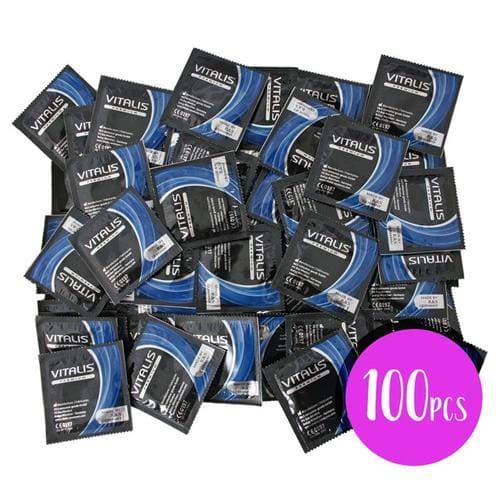 Bolsa de 100 Preservativos Delay Cooling