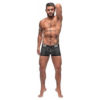 Boxer con cordones negro 2