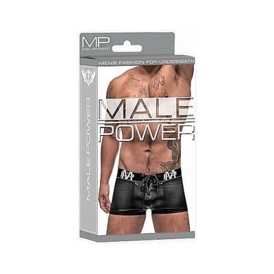 Boxer con cordones negro 4