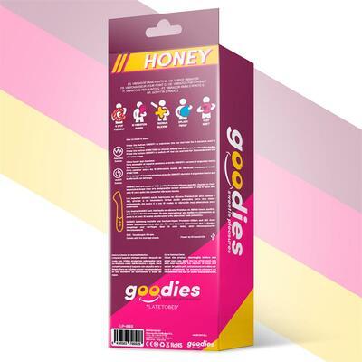 Vibrador punto G y conejito de silicona Honey 7