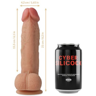 Pack Arnes y dildo de silicona liquida Saul 6