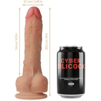 Dildo silicona liquida Connor 205 cm 2