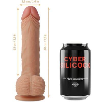 Dildo silicona liquida Freeman 20 cm 2