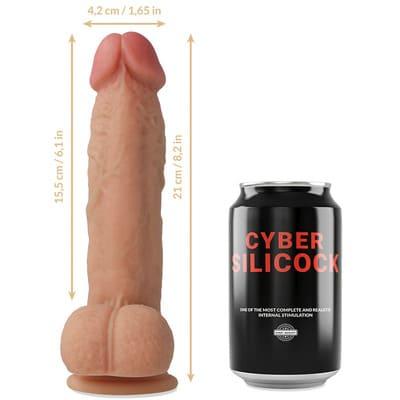 Dildo silicona liquida Saul 205 cm 2
