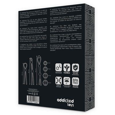 Kit de 7 anillas de silicona flexible 7