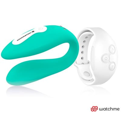 Vibrador dual aguamarina Wearwatch 3