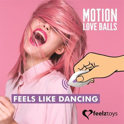 Huevo vibrador Motion Love Balls 7